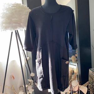 Neon Buddah cotton dress